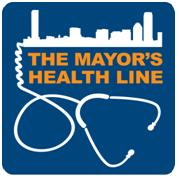 mayors health line logo